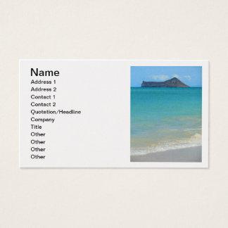 Rabbit Island Business Card