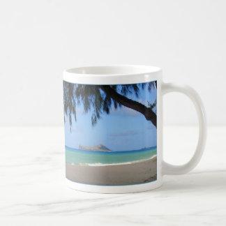 Rabbit Island Classic White Coffee Mug