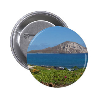 Rabbit Island Oahu Hawaii Pinback Button