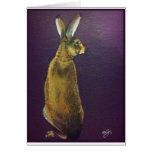 Rabbit.jpg púrpura felicitación