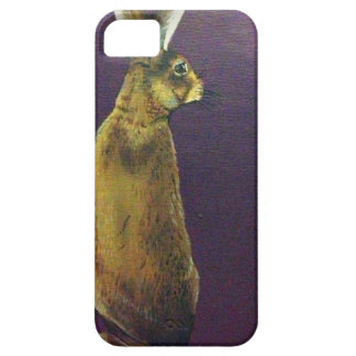 Rabbit.jpg púrpura iPhone 5 funda