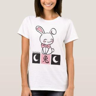 Rabbit Kanji Ladies Shirt