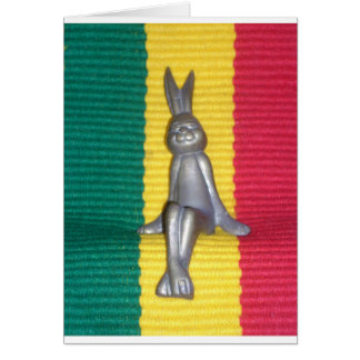 Rabbit Kingston Jamaica Glory Colors Card
