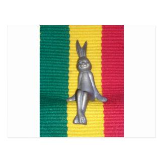 Rabbit Kingston Jamaica Glory Colors Postcard