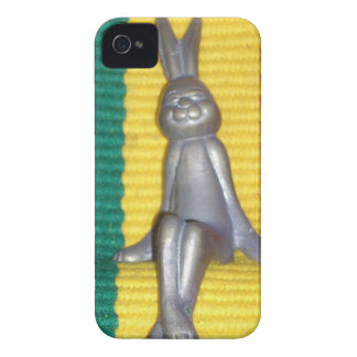 Rabbit Kingston jamaica Glory.png Case-Mate iPhone 4 Cases