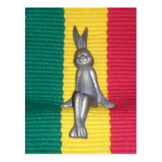 Rabbit Kingston jamaica Glory.png Postcard