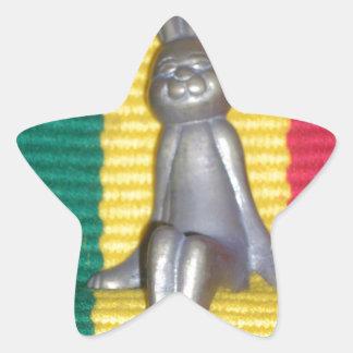 Rabbit Kingston jamaica Glory.png Star Sticker