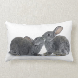 Rabbit Kiss Lumbar Pillow