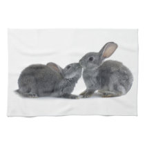 Rabbit Kiss Towel