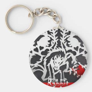 RABBIT LEGACY Vampire Novel Basic Round Button Keychain