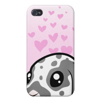 Rabbit Love (floppy ear smooth hair) Cover For iPhone 4
