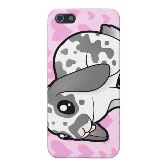Rabbit Love (floppy ear smooth hair) Cover For iPhone SE/5/5s