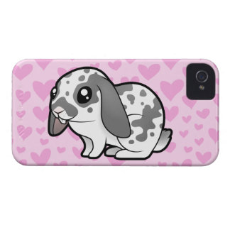Rabbit Love (floppy ear smooth hair) iPhone 4 Cover