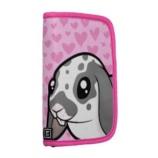 Rabbit Love (floppy ear smooth hair) Folio Planner