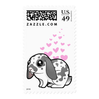 Rabbit Love (floppy ear smooth hair) Postage
