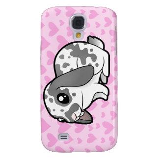 Rabbit Love (floppy ear smooth hair) Samsung S4 Case