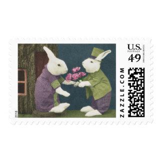 Rabbit Love Postage