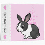 Rabbit Love (uppy ear smooth hair) Binder