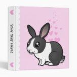 Rabbit Love (uppy ear smooth hair) Binders