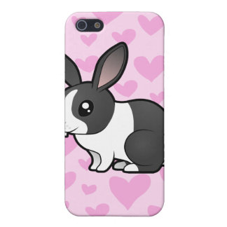 Rabbit Love (uppy ear smooth hair) Cover For iPhone SE/5/5s