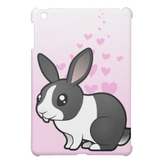 Rabbit Love (uppy ear smooth hair) Cover For The iPad Mini