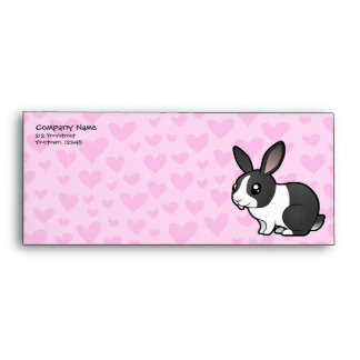 Rabbit Love (uppy ear smooth hair) Envelope