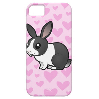 Rabbit Love (uppy ear smooth hair) iPhone SE/5/5s Case