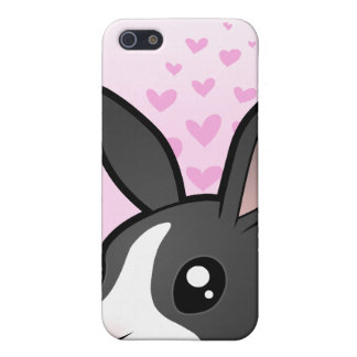 Rabbit Love (uppy ear smooth hair) iPhone SE/5/5s Cover