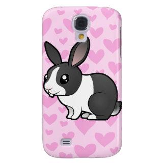 Rabbit Love (uppy ear smooth hair) Samsung Galaxy S4 Cover