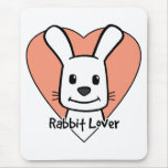 Rabbit Lover Mouse Pad