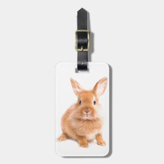 Rabbit Luggage Tag