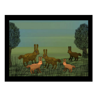Rabbit Lullaby Postcards
