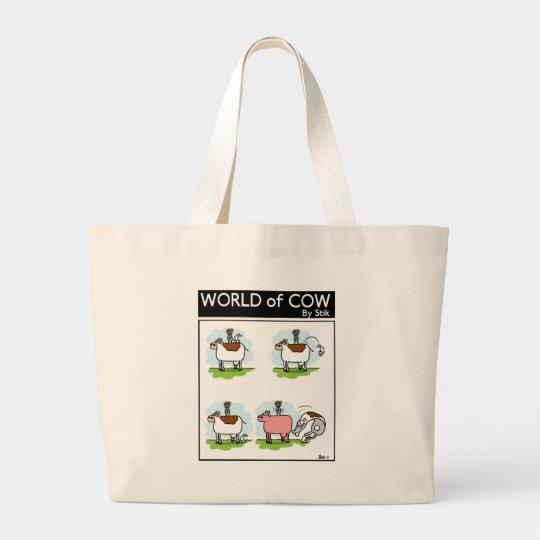 Rabbit Magic Large Tote Bag