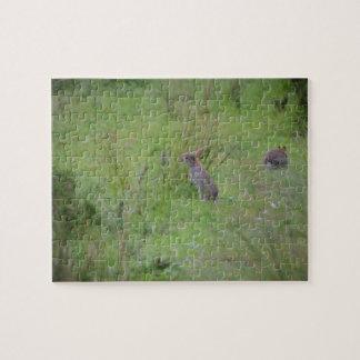 Rabbit Meadow Jigsaw Puzzle