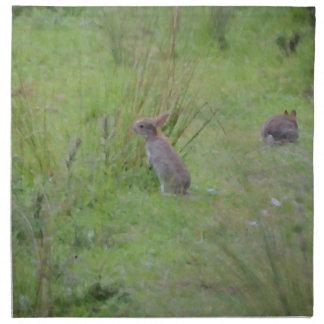 Rabbit Meadow Napkin