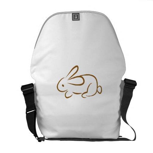 rabbit messenger bag