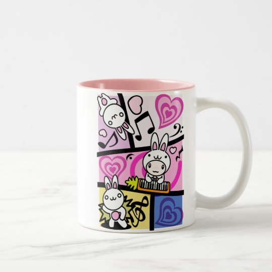 Rabbit_Method Two-Tone Coffee Mug