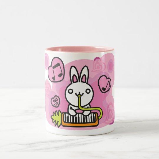 Rabbit_Method Two-Tone Coffee Mug