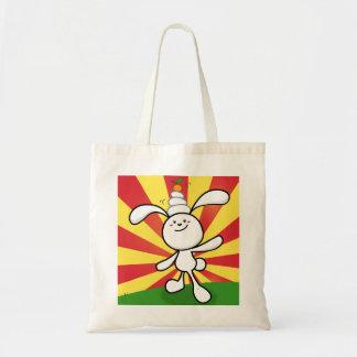 Rabbit Mochi Balance! Canvas Bag