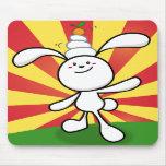 Rabbit Mochi Balance! Mouse Pad