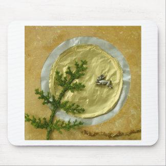 "Rabbit Moon ""O-Tsukimi"" - Collage Mouse Pad"