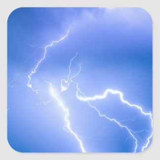 Rabbit Mountain Area Lightning Strikes Boulder Cou Sticker