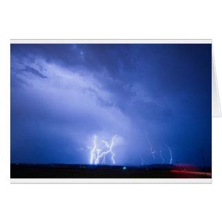 Rabbit Mountain Lightning Strikes Boulder County Greeting Card
