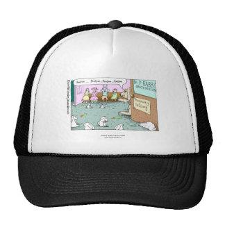 Rabbit OBGYNs Funny Cap Trucker Hat