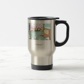 Rabbit OBGYNs Funny Travel Mug