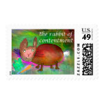 Rabbit of Contentment [postage] Postage Stamps