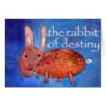 Rabbit of Destiny [card] Greeting Card