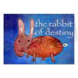 Rabbit of Destiny [card] Greeting Card
