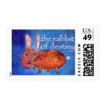 Rabbit of Destiny [postage] Postage Stamps