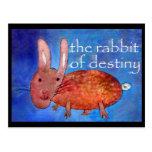 Rabbit of Destiny [postcard] Postcard